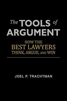 The Tools of Argument book cover