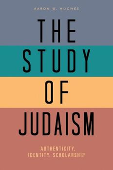 The Study of Judaism book cover