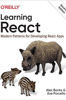 Learning React book cover
