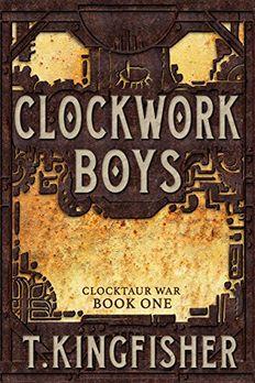 Clockwork Boys book cover