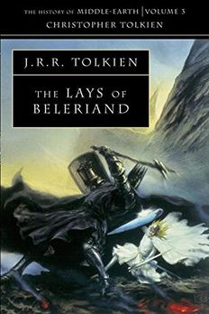 The Lays of Beleriand book cover