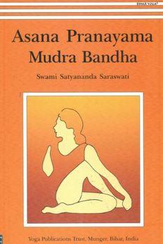Asana Pranayama Mudra Bandha book cover