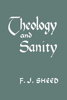 Theology and Sanity book cover