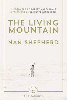 The Living Mountain book cover