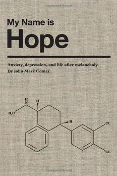 My Name is Hope book cover