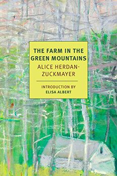 The Farm in the Green Mountains book cover