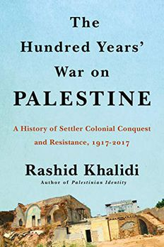 The Hundred Years' War on Palestine book cover