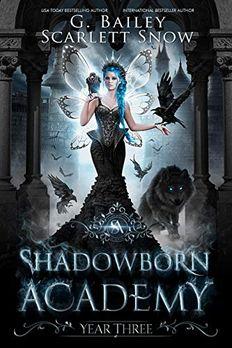Shadowborn Academy book cover