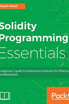 Solidity Programming Essentials book cover