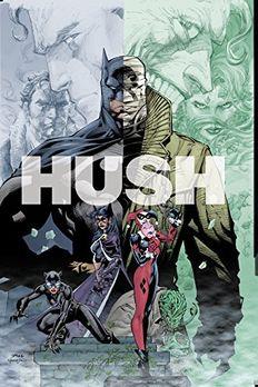 Batman Hush book cover
