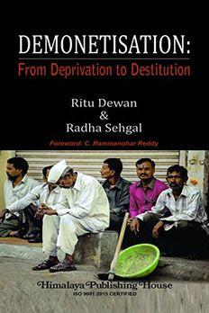 Demonetisation book cover