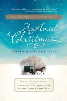 An Amish Christmas book cover