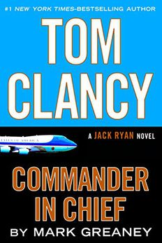 Tom Clancy Commander-in-Chief book cover