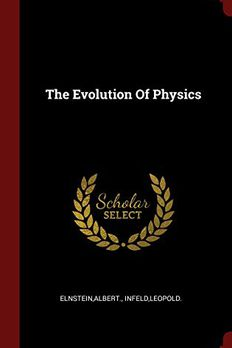 The Evolution Of Physics book cover