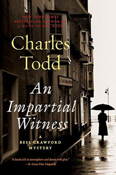 An Impartial Witness book cover