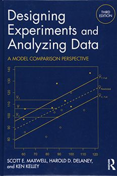 Designing Experiments and Analyzing Data book cover