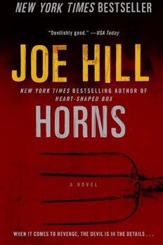 Horns book cover