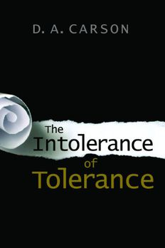 The Intolerance of Tolerance book cover