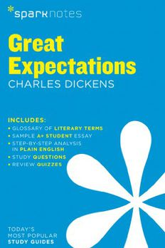 Great Expectations SparkNotes Literature Guide book cover