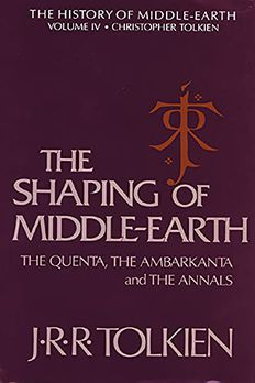 The Shaping of Middle-earth book cover