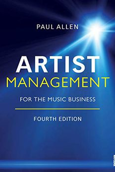 Artist Management for the Music Business book cover