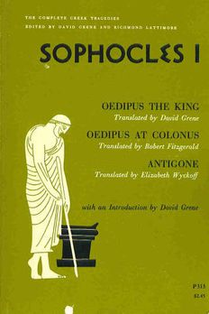 The Complete Greek Tragedies book cover