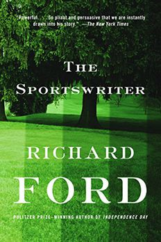 The Sportswriter book cover
