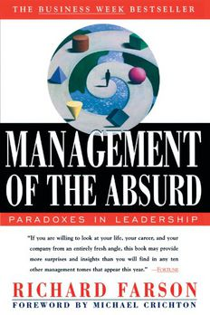 Management of the Absurd book cover
