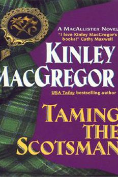 Taming the Scotsman book cover