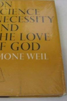 On science, necessity, and the love of God; book cover