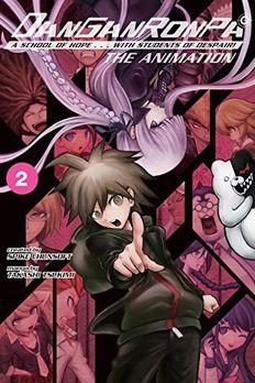 Danganronpa book cover