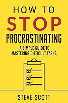How to Stop Procrastinating book cover