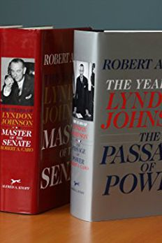 The Years of Lyndon Johnson book cover