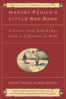 Harvey Penick's Little Red Book book cover