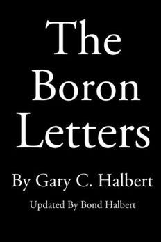 The Boron Letters book cover