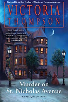 Murder on St. Nicholas Avenue book cover