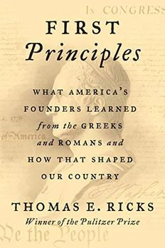 First Principles book cover