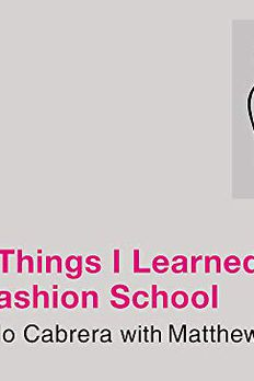 101 Things I Learned in Fashion School book cover