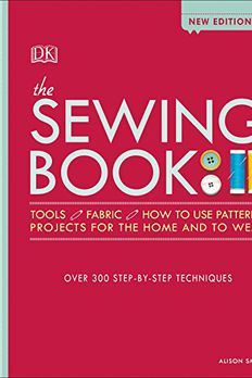 The Sewing Book book cover