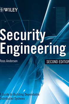 Security Engineering 2nd book cover