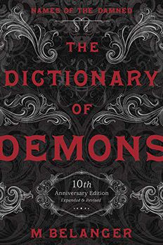 The Dictionary of Demons book cover