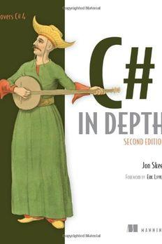 C# in Depth book cover