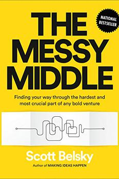 The Messy Middle book cover