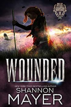 Wounded book cover