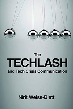 The Techlash and Tech Crisis Communication book cover