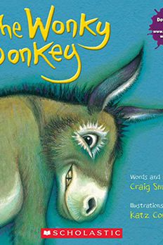 The Wonky Donkey book cover