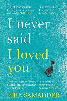 I Never Said I Loved You book cover