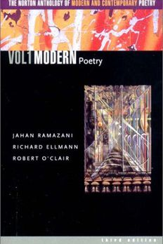 The Norton Anthology of Modern and Contemporary Poetry, Volume 1 book cover