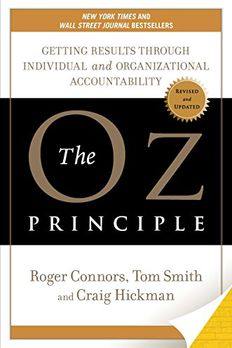 The Oz Principle book cover