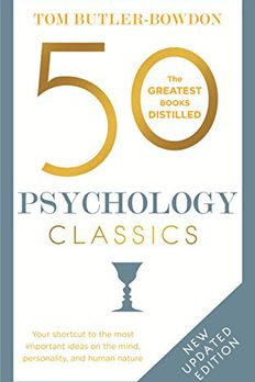 50 Psychology Classics Second Edition book cover